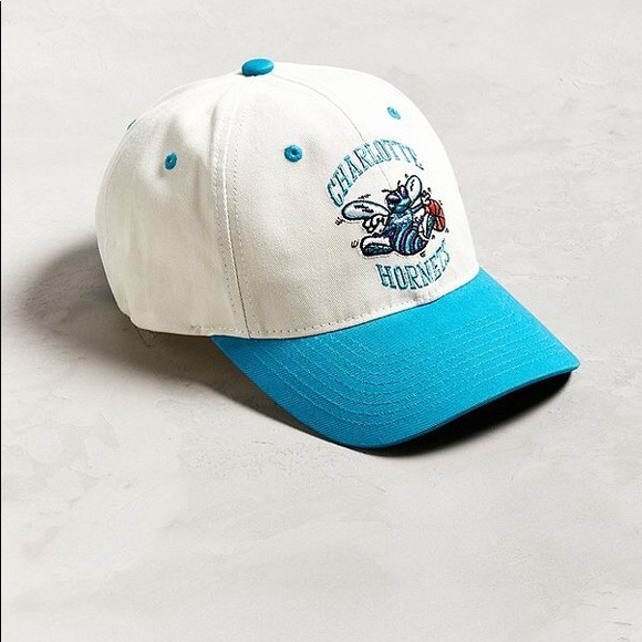bf5d97d69d3 Mitchell   Ness Charlotte Hornets Strapback Hat.  M 5b306cd09519966250187086. Other Accessories ...
